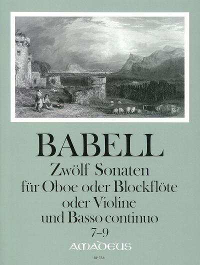 12 sonatas op.1 image