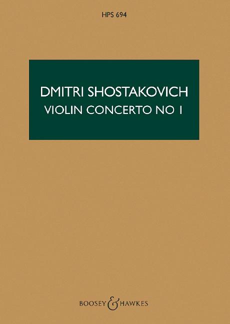 Violin concerto no.1 op.99 image