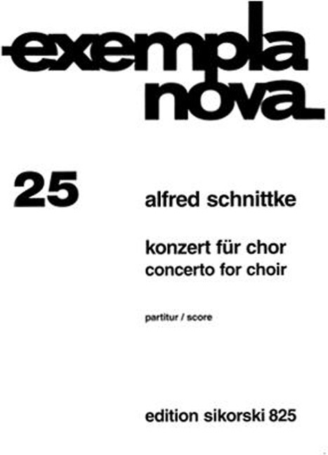 Concerto for choir image