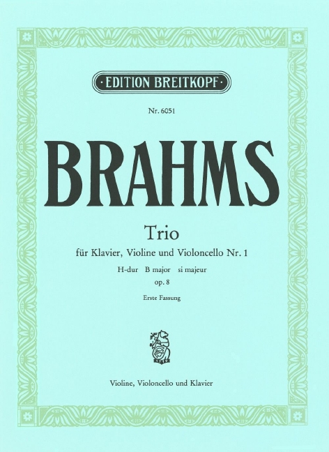 Piano trio no.1 in B Major op.8 image