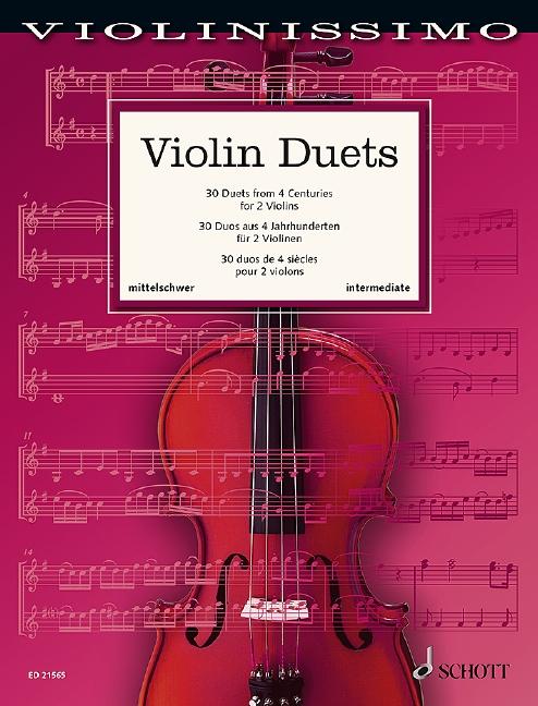 Violin duets image