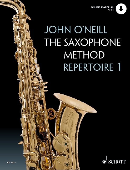 The Saxophone Method Repertoire book 1 image