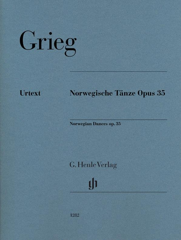 Norwegian dances op.35 image