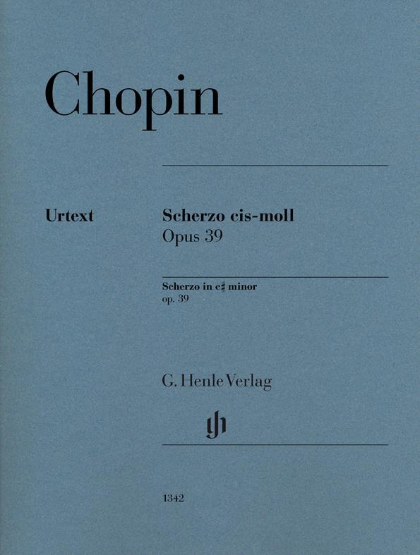 Scherzo in c sharp minor op.39 image