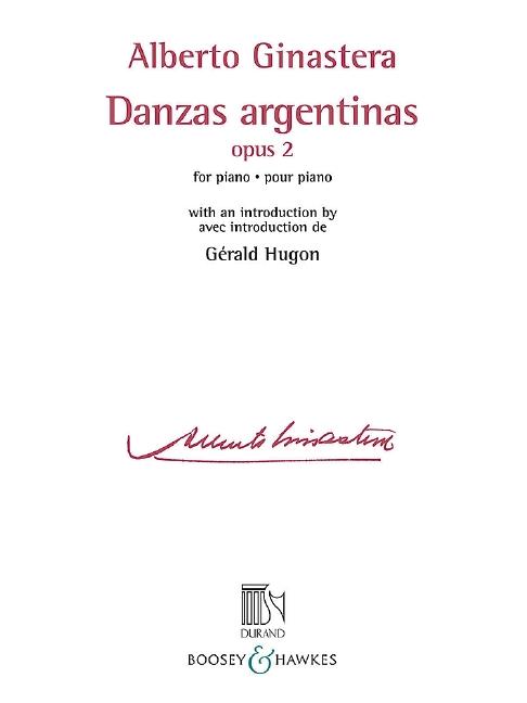 Danzas argentinas op.2 image