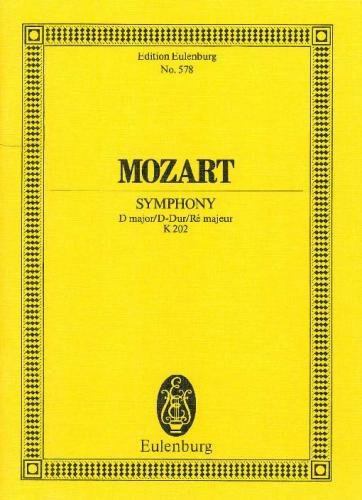 Symphony no.30 in D Major K 202 image