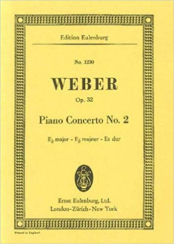 Piano concerto no.2 in E flat Major op.32 image