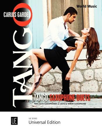 Tango saxophone duets image
