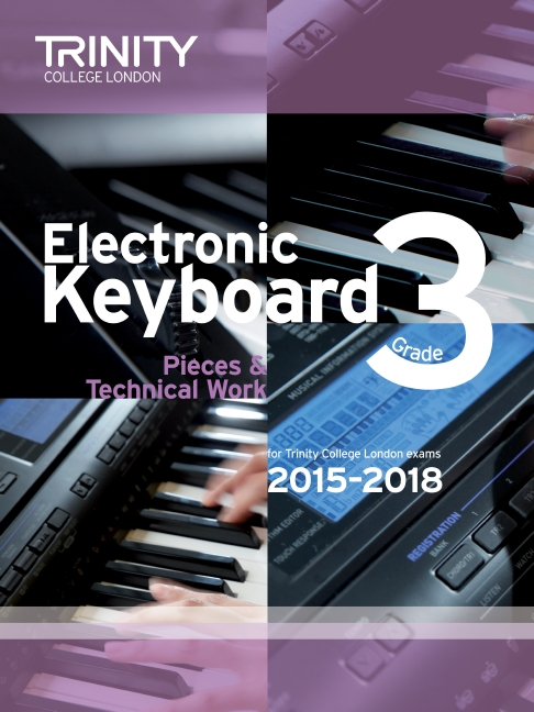 Trinity College Electronic keyboard grade 3 image