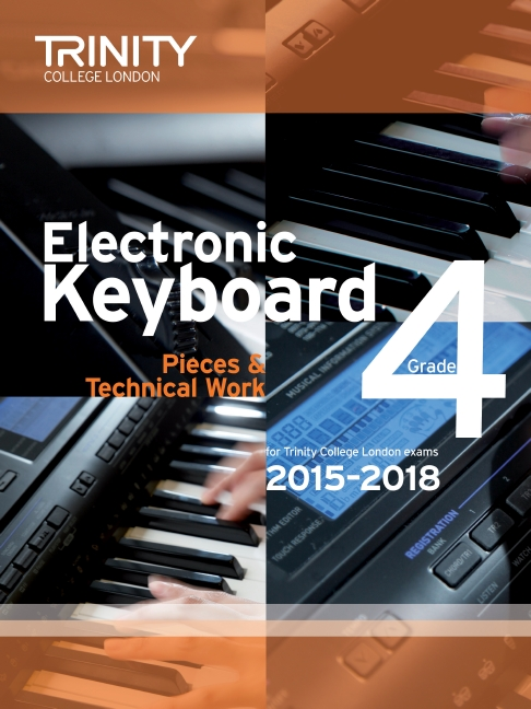 Trinity College Electronic keyboard grade 4 image