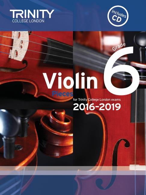Trinity College violin exam pieces 2016-2019 image