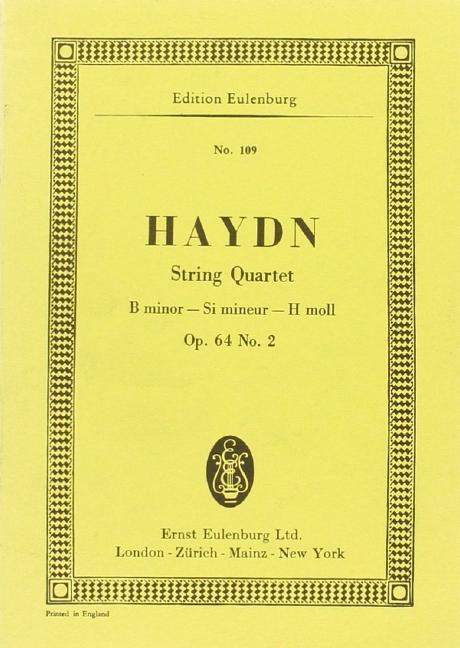 String quartet op.64 no.2 in b minor image